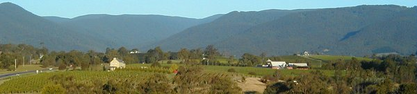 Yarra Valley and Warburton Ranges, Victoria Australia
